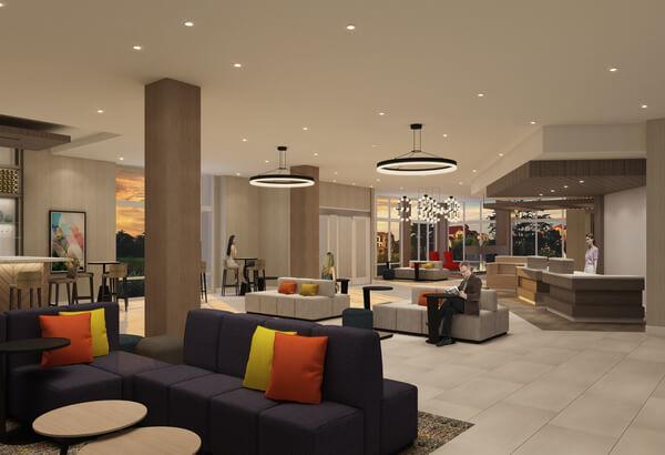 Hilton Garden Inn San Jose - Level 3 Design Group Portfolio